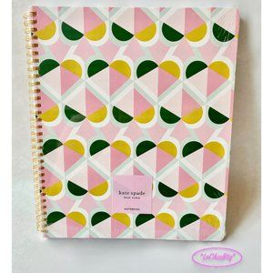 Kate Spade GEO SPADE Large Spiral Notebook NWT!